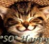 Tricia: HAPPY