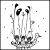 Threadless; fake panda = more fun