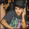 dj in a top hat