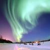 Helenka: Aurora Alaska - green