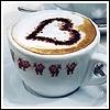 honeybeanlove: Heart espresso