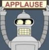 jeffsoesbe: bender applause sign
