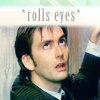 Fritters: Dr. Who - rolls eyes by zaphod_bb