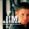 the sorrows of young werther: [spn] dean is batman!