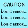 Logic error