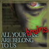 AngharadTy: all your brains