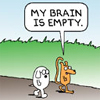 Starlaces: Dilbert: Empty Brain