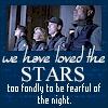 sam: loved the stars