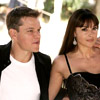 Actors: Matt Damon and Monica Bellucci, Corlionis: Gino and Elisa