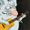 гитара кролик