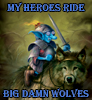 Jim C. Hines: Big Damn Wolves