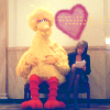 lorettakay: big bird loves cj