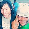 pete & travis~all smiles