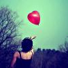 Loveheartballoon