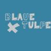 Blaue Tulpe