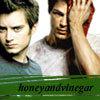 honeyandvinegar: C/Z burning chaos H&V gift :)