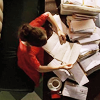 Books-busybusy!, Pushing Daisies-Chuck reading