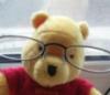 мишка в очках