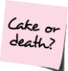 Carrie Leigh: cake or death?