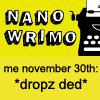 NaNoDed