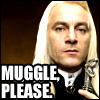 muggle please (lucius)