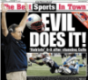 football, patriots football, evil does it