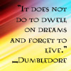 dumbledore dreams