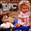 dolls ad // doodlbug