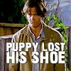 L a t i f a h Rotten: lost his shoe :(