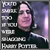 Snape smirk