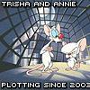 Gen: Me and Trisha Plotting