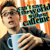 Tracey: DW - Can't save the world w/o caffeine