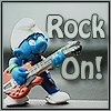 it's all beer limbo until someone loses a leg: rocker smurf