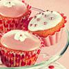 Gâteaux roses