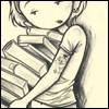 Kurt Hasley :: Girl with Books