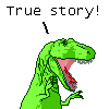 T-rex - True Story!