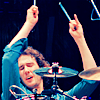 chuck 'mad dog' bartowski: ( jgroban ) drummers are SEXAY!