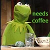 ridin' the star mile: muppets-kermit-coffee