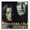 Snape/Hermione 'Studying'