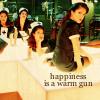 Tania: [across the universe] warm gun