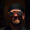 brass goggles
