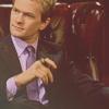 Barney - smoking