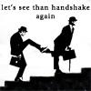 handshake, sillywalks