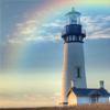 Tels: rainbow lighthouse