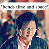 A showdown between a cowboy and a volcano: Hiro- bends time and space