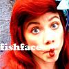 Bizarra: ariel fish face