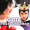 cruella queen hate kids