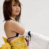 Yuna summoner cosplay