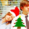 Christmas Jim and Pam