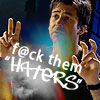 Shep: fuck them haters (a_gal_icons)